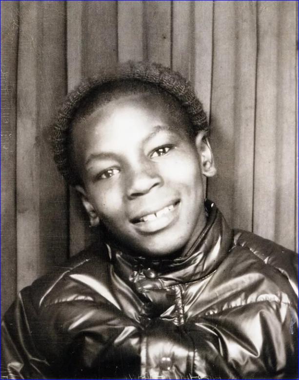 Майк Тайсон. Фото из детства