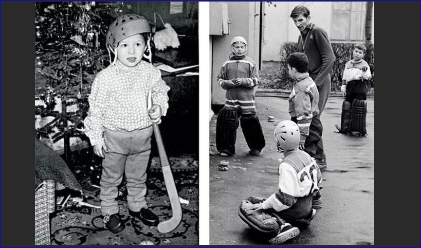Детское фото Александра в экипировке
