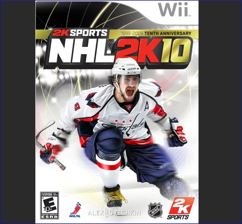 Александр Овечкин на обложке игры NHL 2007
