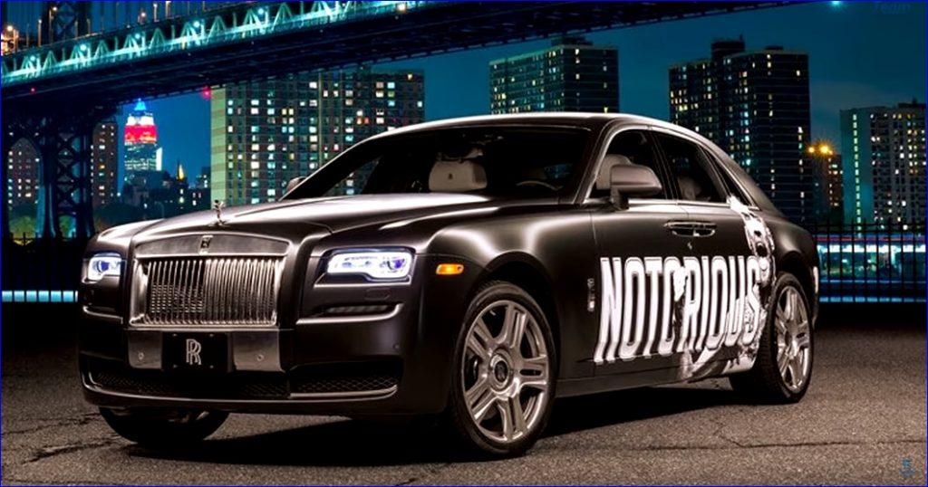 Личный подарок Конору от руководства Rolls-Royce