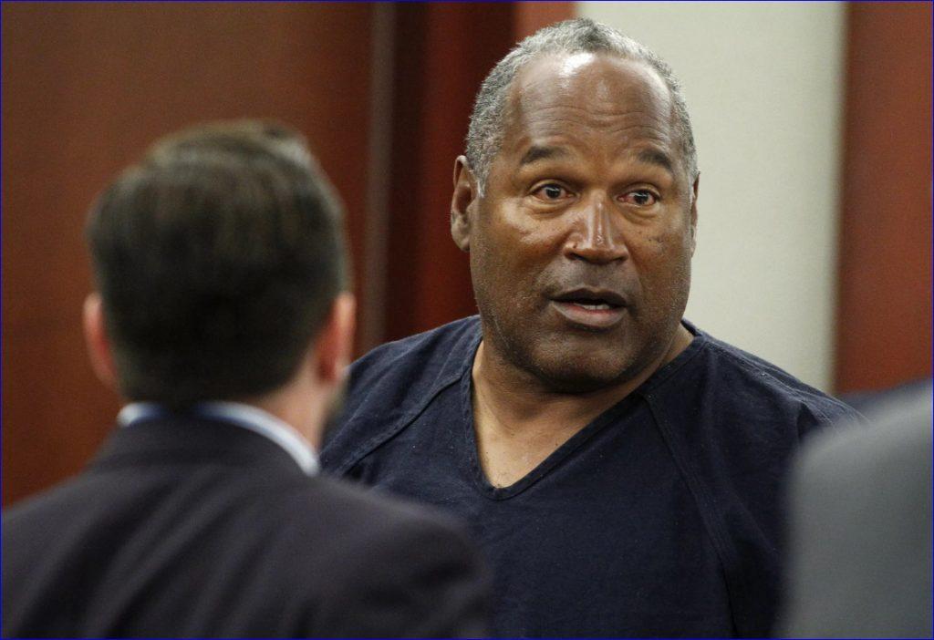 О Джей вышел на свободу в 2017 году. Фото из зала суда