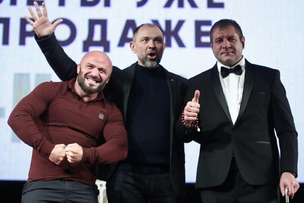 Емельяненко и Исмаилов