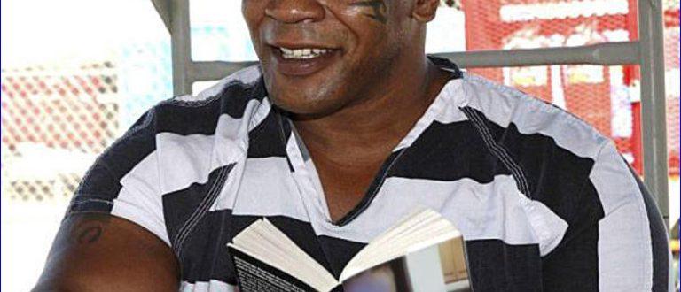 Фото Тайсона в тюрьме. 1992 год