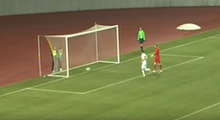 Ответный гол «Сиони» в ворота «Динамо»