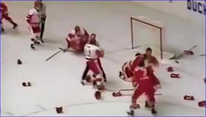 Раритетный кадр с того матча. 1987 год, МЧМ