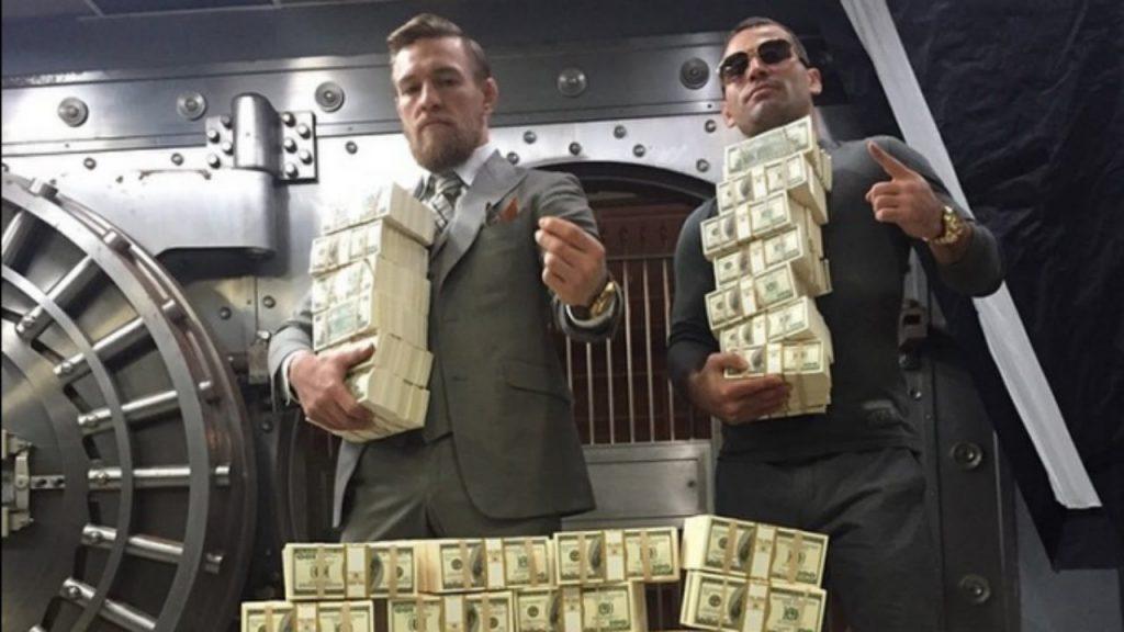 Манисчёт: сколько Конор Макгрегор заработал на ММА