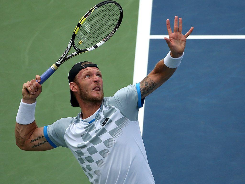 Самая сильная подача в большом теннисе