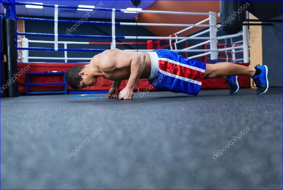 Отжимания боксёров - как бойцы добиваются взрывной силы