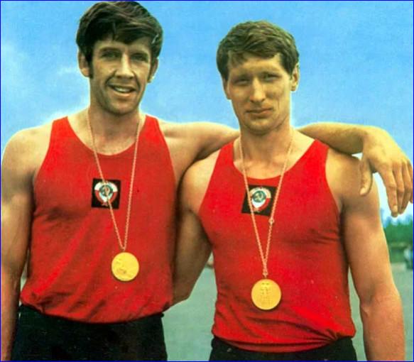 Александр Тимошинин и Геннадий Коршиков – олимпийские чемпионы 1972 года по гребле