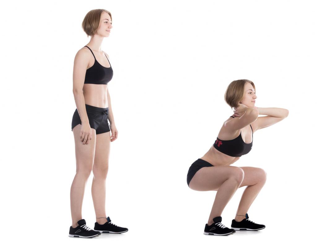 5 лучших упражнений для получения просвета между ног