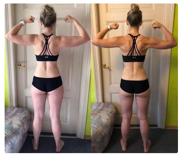 3 месяца бодибилдинга - как меняется девушка (реальный пример, фото до и после)