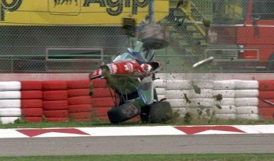 Авария Рубенса Баррикелло (ГП Сан-Марино, 1994-й год)