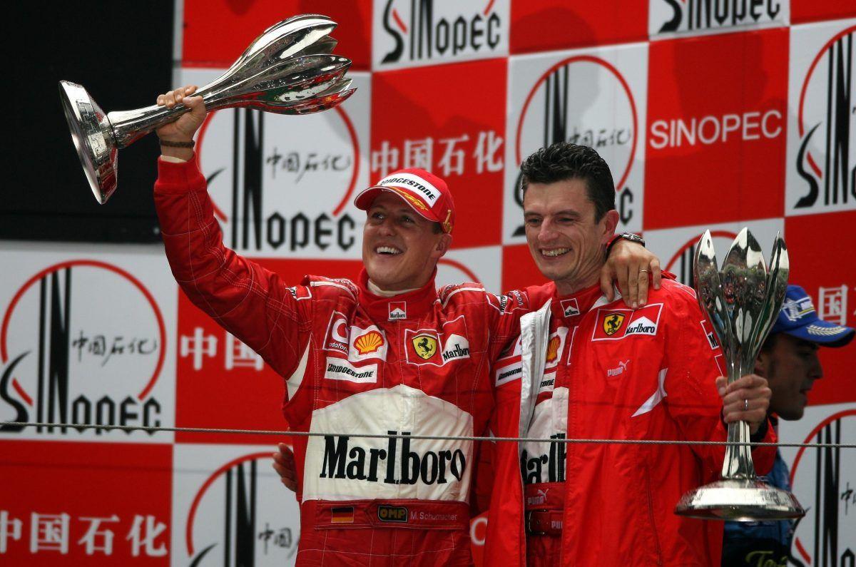 91-я победа Михаэля Шумахера (ГП Китая 2006-й год)