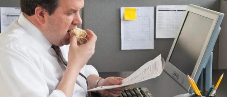 Пример меню на неделю для похудения при сидячем образе жизни