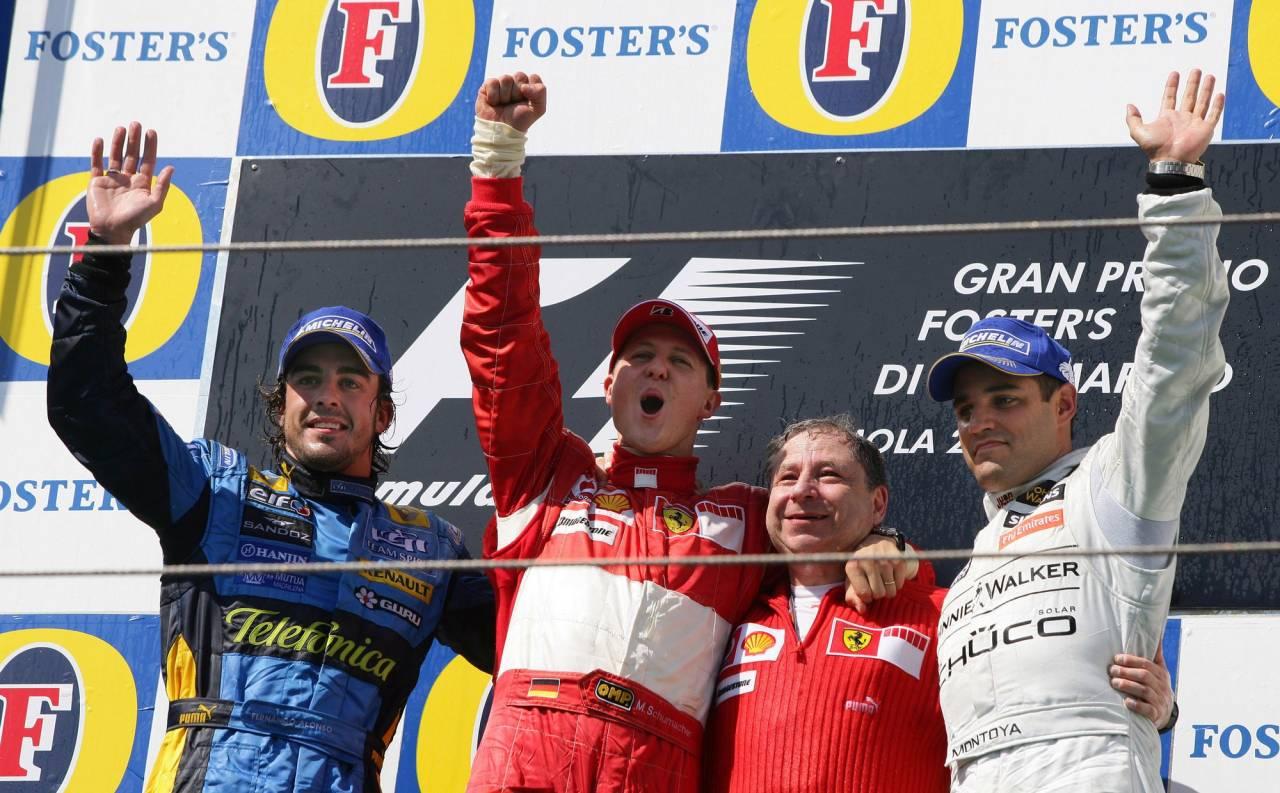 Победа Михаэля Шумахера на ГП Сан-Марино (2006-й год)
