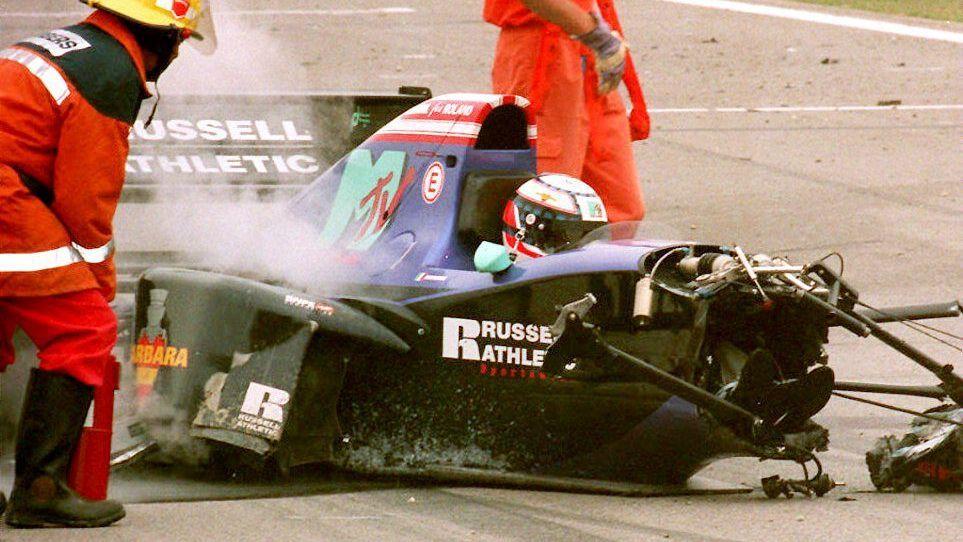Трагическая авария Роланда Ратценбергера (ГП Сан-Марино, 1994-й год)