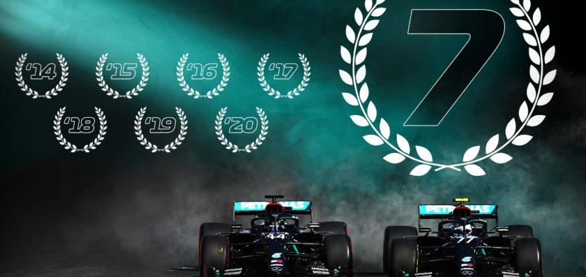 Триумфальное шествие команды «Mercedes»